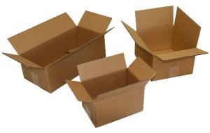 boîtes en carton