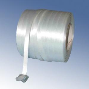 Feuillard polyester filamenteux