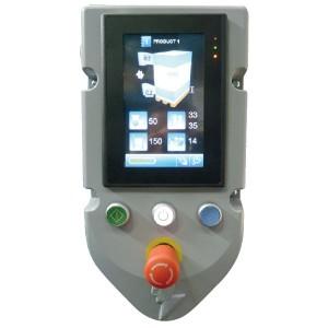 Robot S6 - panneau de commande tactile en couleurs