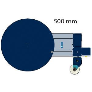 Rotoplat - Distance de sécurité entre les pièces fixes et mobiles