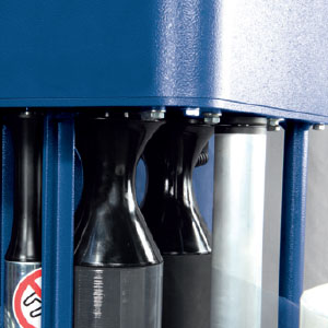 Rotoplat - Système « qls » (système de chargement rapide) pour un chargement rapide du film
