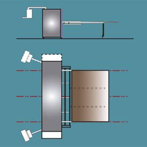 Introduction de plaques de carton manuelles