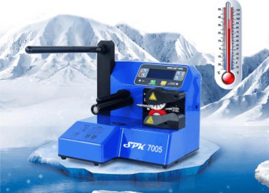 Machine de calage SPK-7005 température