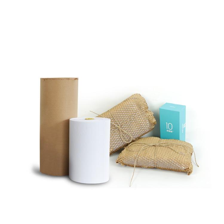 calage et protection: papier kraft alvéolé